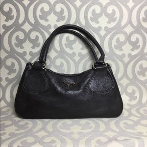 Prada Vitelli Daino Shoulder Bag